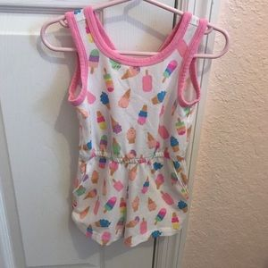 Ice cream Print Romper
